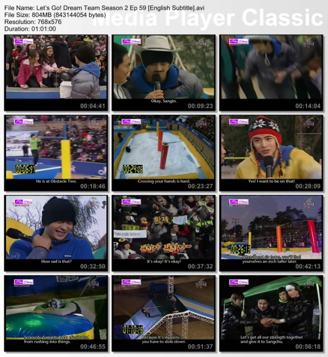 Dream Team with 2PM part 2 eng sub | Kshowloveholic