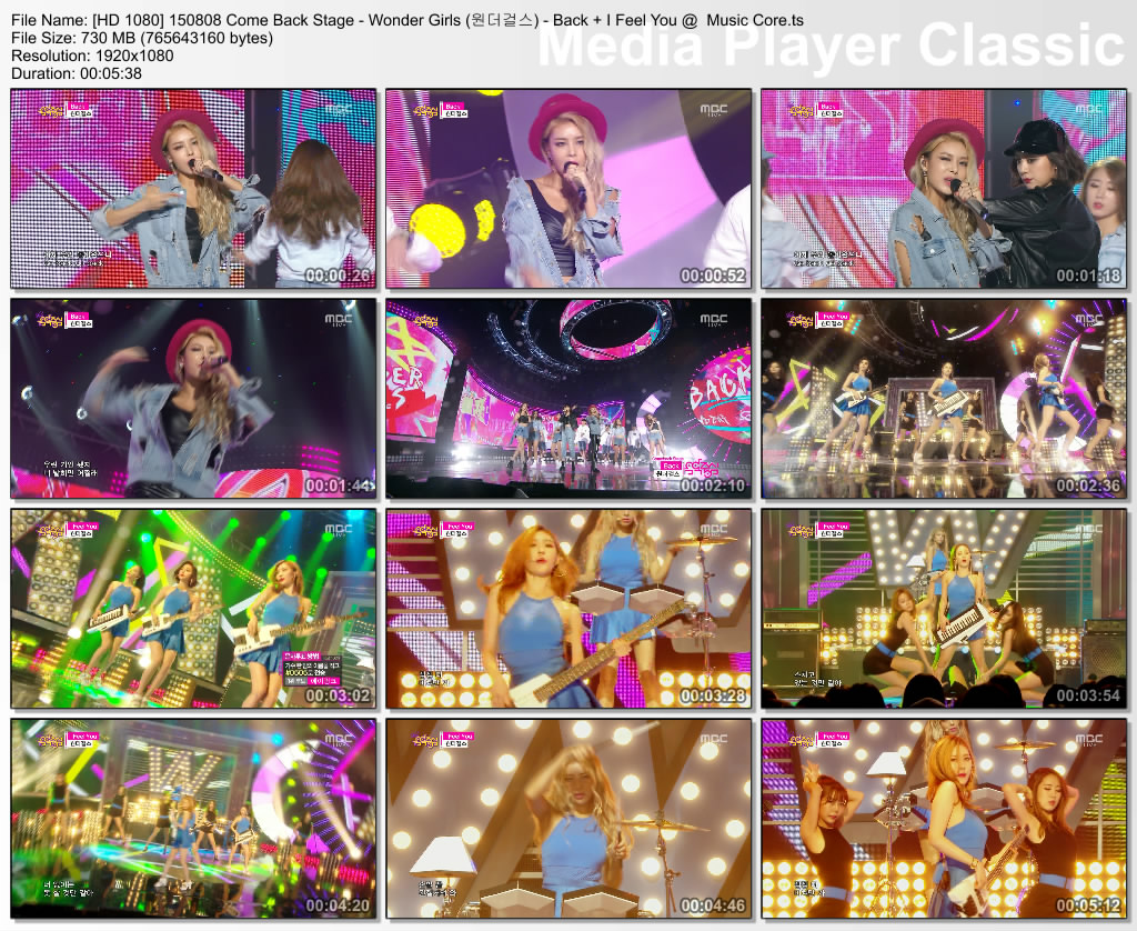 [HD 1080] 150808 Come Back Stage - Wonder Girls (원더걸스) - Back + I Feel You @  Music Core.ts_thumbs_[2015.08.08_15.58.59]
