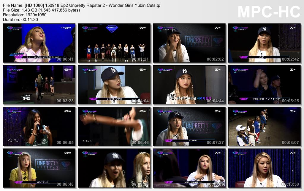 [HD 1080] 150918 Ep2 Unpretty Rapstar 2 - Wonder Girls Yubin Cuts.tp_thumbs_[2015.09.19_18.53.07]